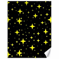 Bright Yellow   Stars In Space Canvas 18  X 24