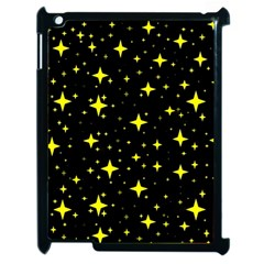 Bright Yellow   Stars In Space Apple Ipad 2 Case (black)