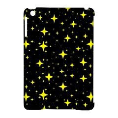 Bright Yellow   Stars In Space Apple Ipad Mini Hardshell Case (compatible With Smart Cover) by Costasonlineshop