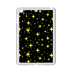 Bright Yellow   Stars In Space Ipad Mini 2 Enamel Coated Cases
