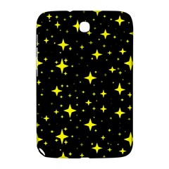 Bright Yellow   Stars In Space Samsung Galaxy Note 8 0 N5100 Hardshell Case