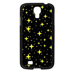 Bright Yellow   Stars In Space Samsung Galaxy S4 I9500/ I9505 Case (black) by Costasonlineshop