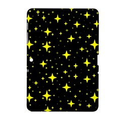 Bright Yellow   Stars In Space Samsung Galaxy Tab 2 (10 1 ) P5100 Hardshell Case  by Costasonlineshop