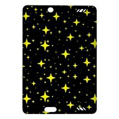 Bright Yellow   Stars In Space Amazon Kindle Fire Hd (2013) Hardshell Case