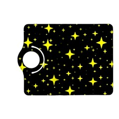 Bright Yellow   Stars In Space Kindle Fire Hd (2013) Flip 360 Case by Costasonlineshop