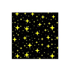 Bright Yellow   Stars In Space Satin Bandana Scarf by Costasonlineshop