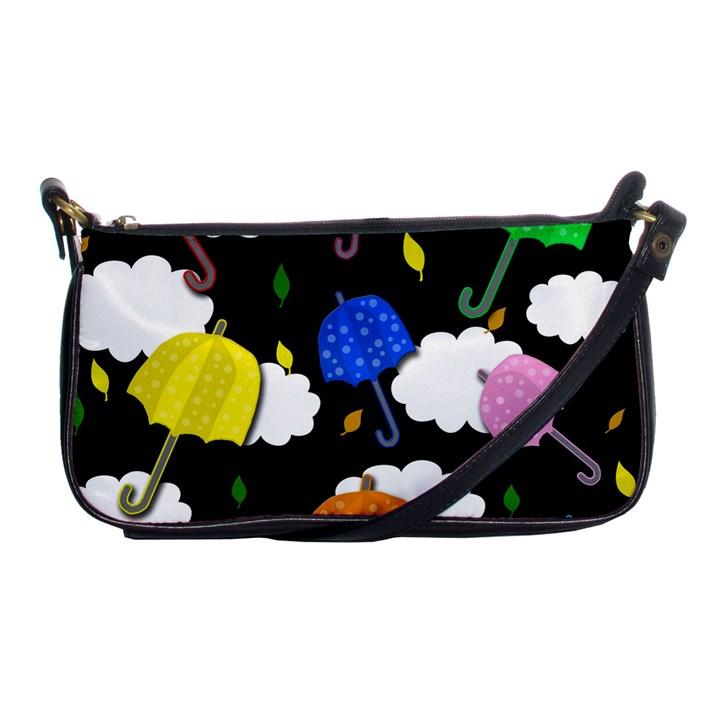 Umbrellas 2 Shoulder Clutch Bags