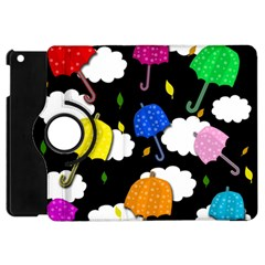 Umbrellas 2 Apple Ipad Mini Flip 360 Case by Valentinaart