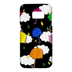 Umbrellas 2 Samsung Galaxy S7 Hardshell Case