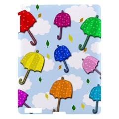 Umbrellas  Apple Ipad 3/4 Hardshell Case by Valentinaart