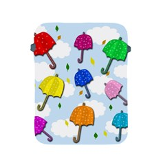 Umbrellas  Apple Ipad 2/3/4 Protective Soft Cases by Valentinaart