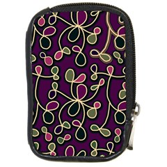 Elegant Purple Pattern Compact Camera Cases by Valentinaart