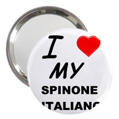 Spinone Love 3  Handbag Mirrors by TailWags