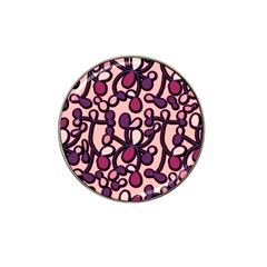 Pink And Purple Pattern Hat Clip Ball Marker (10 Pack) by Valentinaart