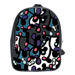Elegant Pattern School Bags (xl)  by Valentinaart