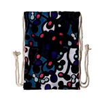 Elegant pattern Drawstring Bag (Small) Front