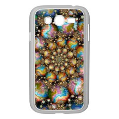 Marbled Spheres Spiral Samsung Galaxy Grand Duos I9082 Case (white) by WolfepawFractals