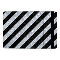 Stripes3 Black Marble & Gray Marble Samsung Galaxy Tab Pro 10 1  Flip Case by trendistuff
