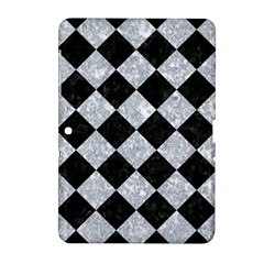 Square2 Black Marble & Gray Marble Samsung Galaxy Tab 2 (10 1 ) P5100 Hardshell Case  by trendistuff