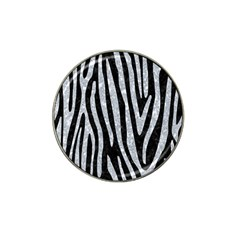Skin4 Black Marble & Gray Marble (r) Hat Clip Ball Marker (10 Pack) by trendistuff