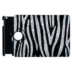 Skin4 Black Marble & Gray Marble (r) Apple Ipad 3/4 Flip 360 Case by trendistuff