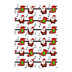 Xmas Song Pattern Shower Curtain 48  X 72  (small)  by Valentinaart
