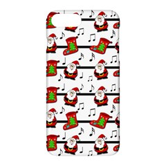 Xmas song pattern Apple iPhone 7 Plus Hardshell Case by Valentinaart