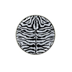 Skin2 Black Marble & Gray Marble (r) Hat Clip Ball Marker (10 Pack) by trendistuff