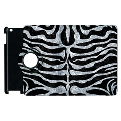Skin2 Black Marble & Gray Marble Apple Ipad 2 Flip 360 Case by trendistuff
