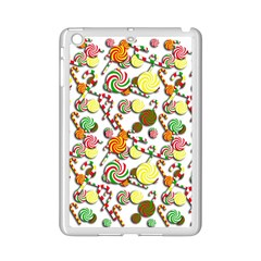 Xmas Candy Pattern Ipad Mini 2 Enamel Coated Cases by Valentinaart