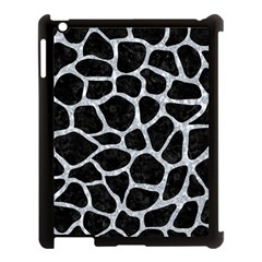Skin1 Black Marble & Gray Marble (r) Apple Ipad 3/4 Case (black) by trendistuff