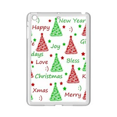 New Year Pattern Ipad Mini 2 Enamel Coated Cases by Valentinaart