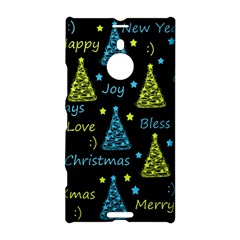 New Year Pattern   Blue And Yellow Nokia Lumia 1520 by Valentinaart