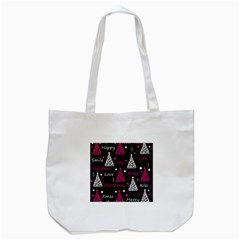New Year Pattern   Magenta Tote Bag (white) by Valentinaart