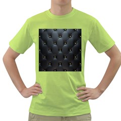 Black Skin Green T Shirt