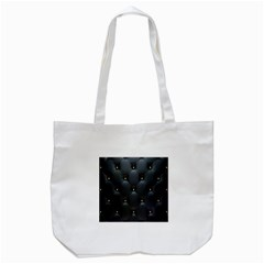 Black Skin Tote Bag (white)