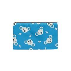 Blue Koala Cosmetic Bag (small)  by AnjaniArt