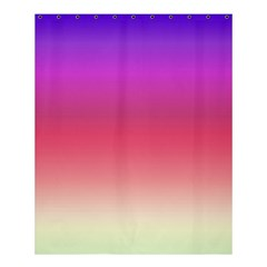 Blue Pink Purple Red Shower Curtain 60  X 72  (medium)  by AnjaniArt