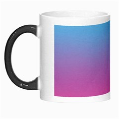 Blue Pink Purple Morph Mugs