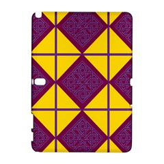 Complexion Purple Yellow Galaxy Note 1 by AnjaniArt