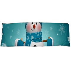Cute Snowman Body Pillow Case Dakimakura (two Sides) by AnjaniArt