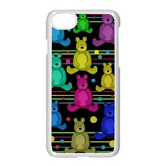 Teddy Bear 2 Apple Iphone 7 Seamless Case (white) by Valentinaart