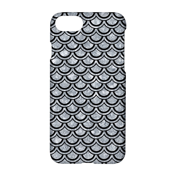 SCALES2 BLACK MARBLE & GRAY MARBLE (R) Apple iPhone 7 Hardshell Case
