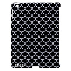 Scales1 Black Marble & Gray Marble Apple Ipad 3/4 Hardshell Case (compatible With Smart Cover) by trendistuff