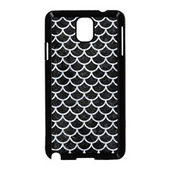 Scales1 Black Marble & Gray Marble Samsung Galaxy Note 3 Neo Hardshell Case (black) by trendistuff