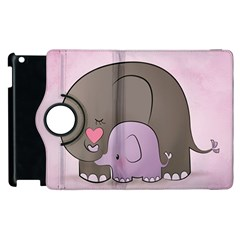 Cute Elephant Apple Ipad 3/4 Flip 360 Case by AnjaniArt