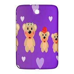 Happy Bears Cute Samsung Galaxy Note 8 0 N5100 Hardshell Case  by AnjaniArt