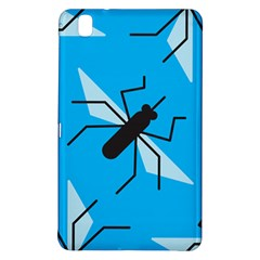 Mosquito Blue Black Samsung Galaxy Tab Pro 8 4 Hardshell Case by AnjaniArt