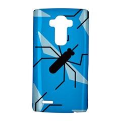 Mosquito Blue Black Lg G4 Hardshell Case by AnjaniArt