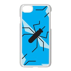 Mosquito Blue Black Apple Iphone 7 Seamless Case (white)